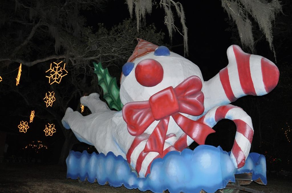 Two Holiday Outings: Cirque Dreams Holidaze and Celebration in the Oaks