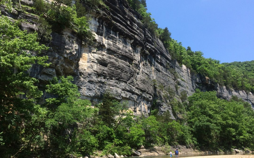 Roark Bluff at Buffalo National River