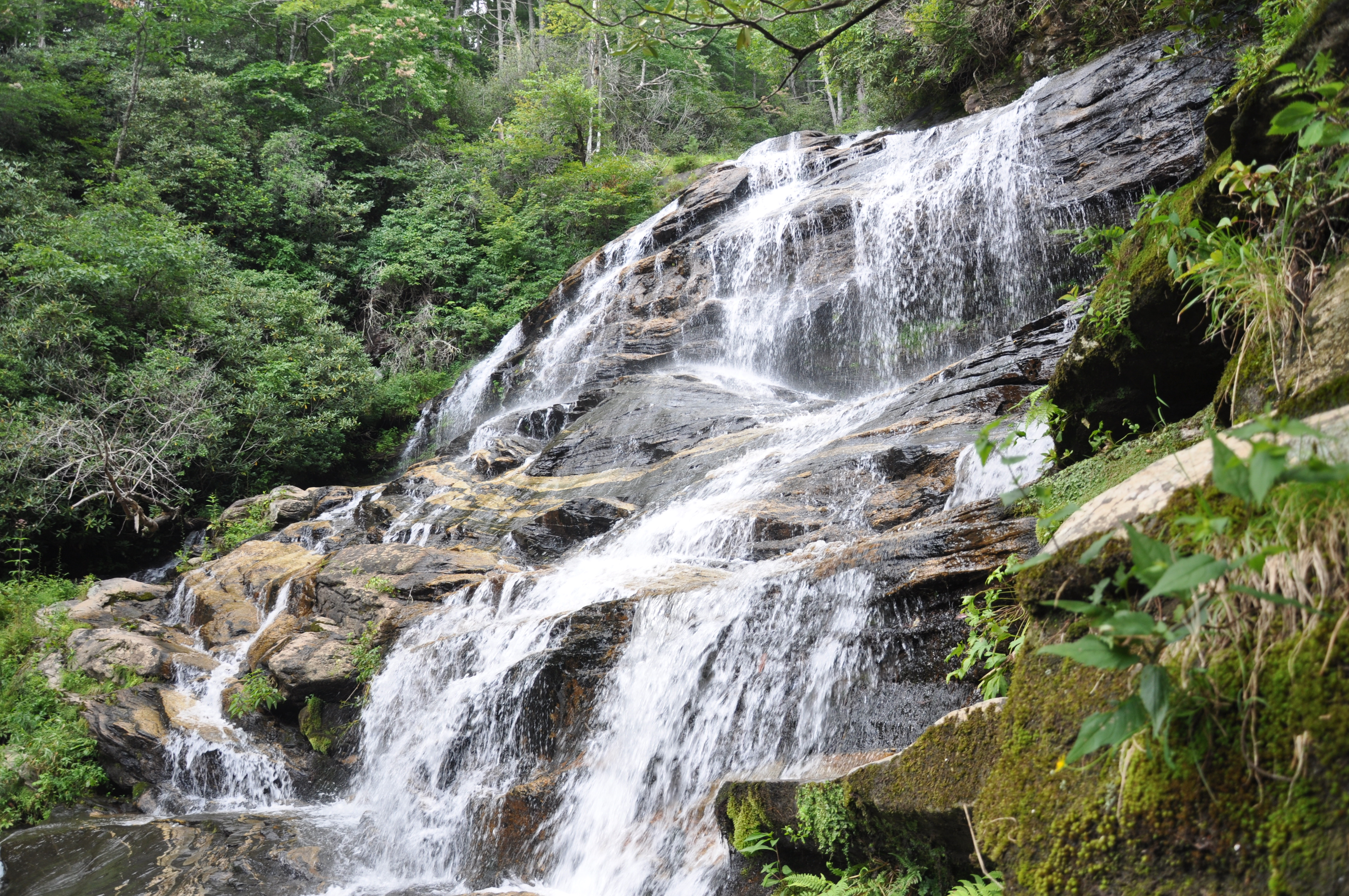 Glen Falls near Highlands, North Carolina