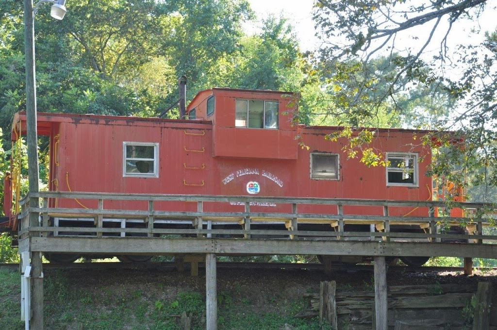 Train Car in St. Francisville