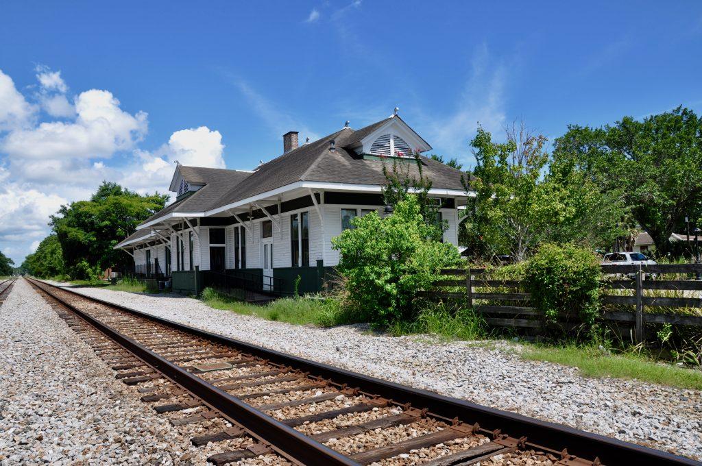 Ocean Springs train depot