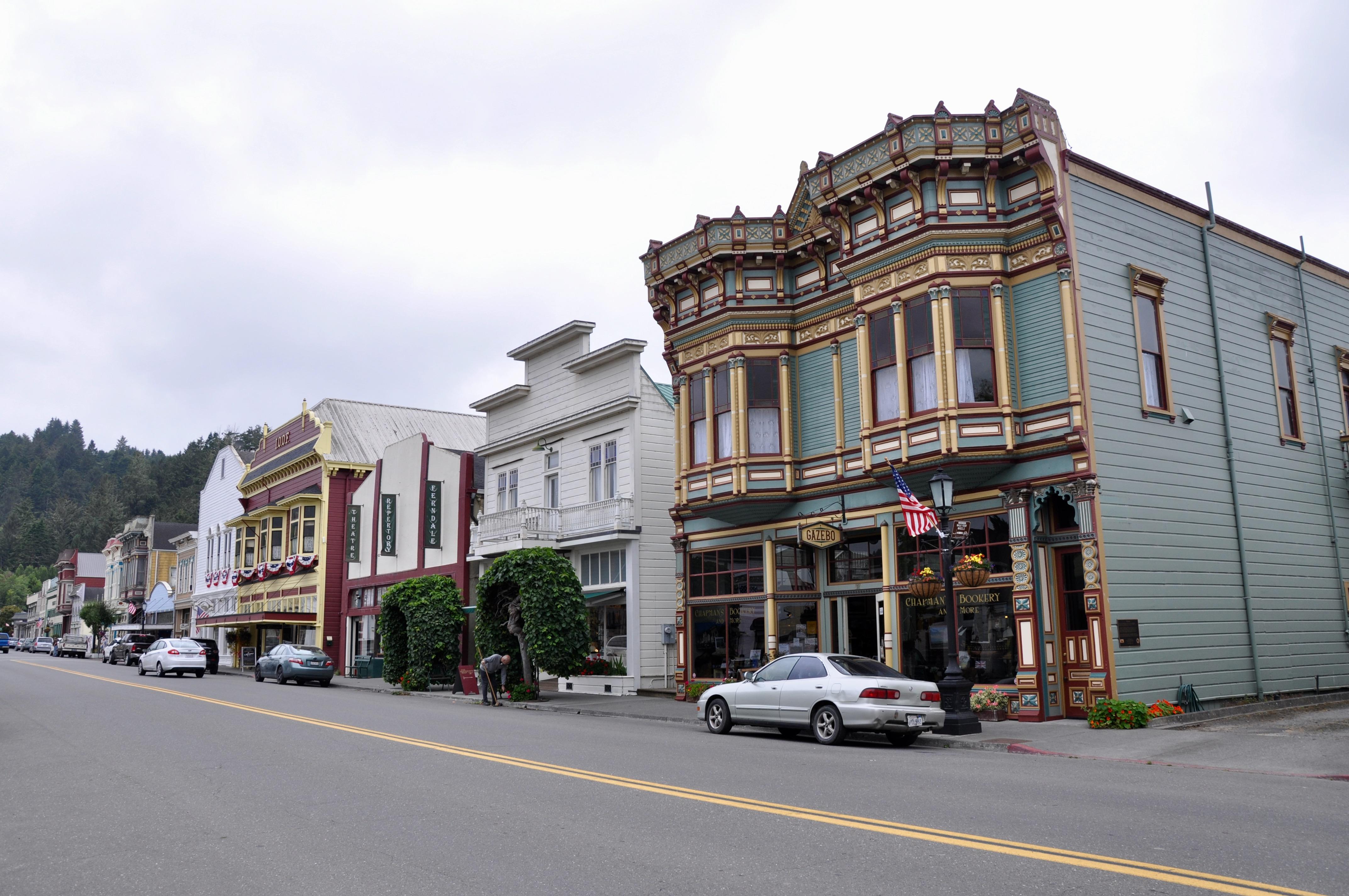 Main Street in Victorian Ferndale